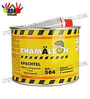 Шпатлевка CHAMALEON 504 ALU с алюминием 1,8 кг