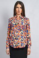 Блуза Polo цветы