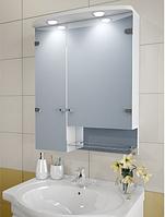 Шкаф зеркальный Garnitur.plus в ванную с подсветкой 32SZ