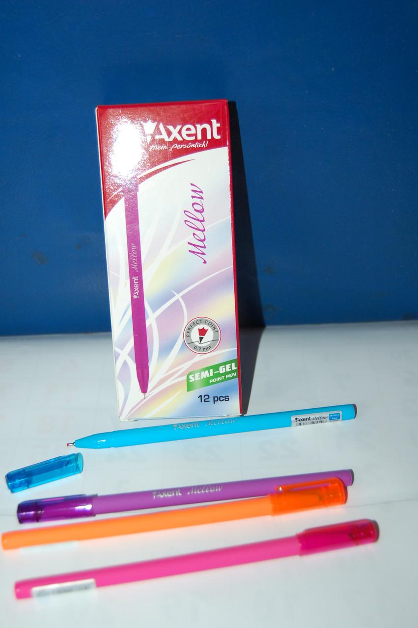 Ручка масляная Mellow синяя