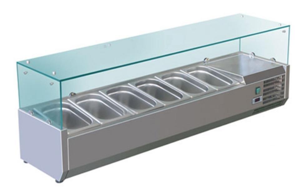 Витрина холодильная для начинки Cooleq VRX 1500/380