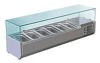 Витрина холодильная для начинки Cooleq VRX 1500/830