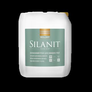 Грунтовка  силіконмодифікована Kolorit Silanit 10л