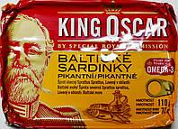 Сардины в пикантном масле King Oskar Balticke Sardinky v pikantni 110h.