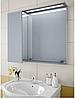 Шкаф зеркальный Garnitur.plus в ванную с LED подсветкой и полкой 33L