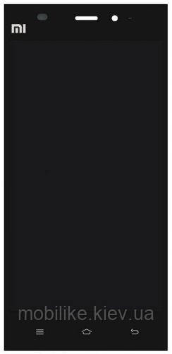 Дисплей з сенсорним екраном Xiaomi MI3 чорний