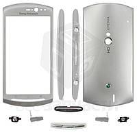 Корпус для мобильных телефонов Sony Ericsson MT11i Xperia neo V, MT15i Xperia Neo, серебристый