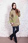 Стильное женское куртка-пальто от производителя модель весна 2018 - (рр-49), фото 2