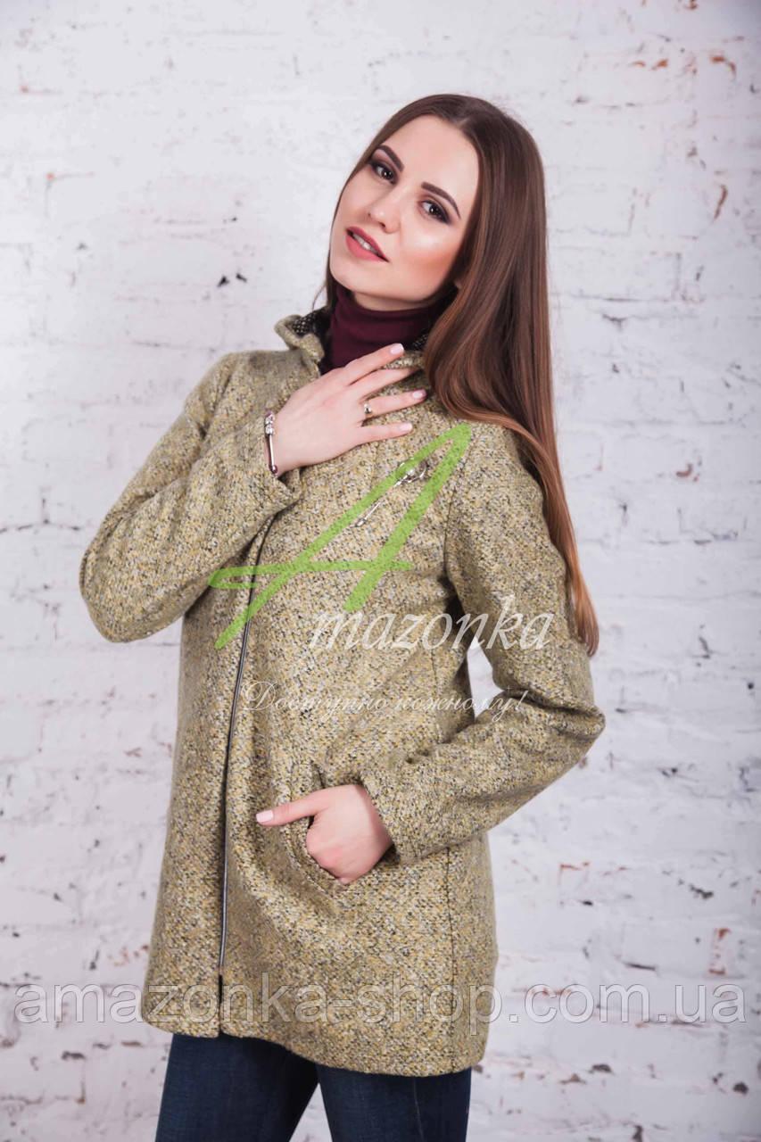 Стильное женское куртка-пальто от производителя модель весна 2018 - (рр-49)