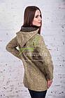 Стильное женское куртка-пальто от производителя модель весна 2018 - (рр-49), фото 3