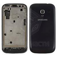 Корпус для мобильного телефона Samsung I8160 Galaxy Ace II, черный