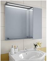 Шкаф зеркальный Garnitur.plus в ванную с LED подсветкой и полкой 34LZ