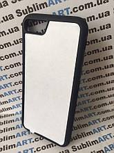 Чехол для 2D сублимации резиновый (TPU) Iphone 7/8 черный