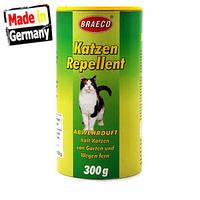 Средство для отпугивания кошек Braeco: натуральный состав, гранулы, 300 г