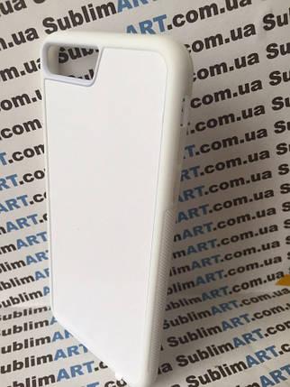 Чехол для 2D сублимации резиновый (TPU) Iphone 7Plus/8Plus белый, фото 2