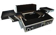 Кейс мастера металлический YRE раздвижной с алюминиевыми вставками, купить чемодан для парикмахера