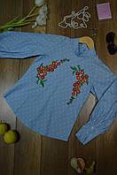 Женская рубашка с вышивкой Elizabetta Franchi