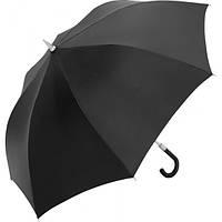 Стильный мужской зонт-трость полуавтомат, антиветер FARE (ФАРЕ) FARE7280-black