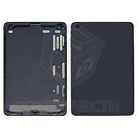 Задняя крышка для планшета Apple iPad Mini, черная, (версия Wi-Fi)
