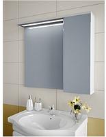 Шкаф зеркальный Garnitur.plus в ванную с LED подсветкой и полкой 36LZ