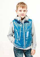 Утепленный жилет для мальчика