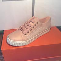 Женские кроссовки №1022 (розовые)