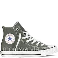 Кеды Converse All Star высокие серые