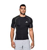 Компрессионная мужская футболка с коротким рукавом Adidas