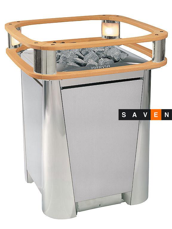 Электрическая печь (каменка) для сауны и бани Harvia Elegance F18