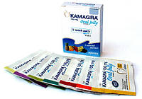 Камагра гель 100 мг Kamagra Oral Jelly Ajanta Pharma (7 пакетиков)