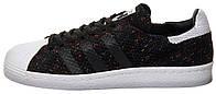 Женские кроссовки Adidas Superstar 80s Primeknit Black/White