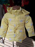 Весенняя курточка для маленьких принцесс (рост 116)