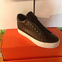 Женские высокие кроссовки №1026 (черные)