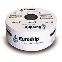 Капельная лента Eurodrip (Eolos LS) 17 мм, 15 мил через 30 см, 1,3 л/ч, 1300 м