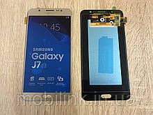 Дисплей на Samsung J710 Galaxy J7(2016) Золото(Gold),GH97-18855A, Super AMOLED!