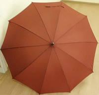 Женский зонт трость с водным рисунком