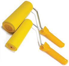Валик прижимной, резиновий 6х50 мм Httools с ручкой