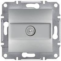 Розетка ТВ проходная  Schneider-Electric Asfora EPH3200261 алюминий