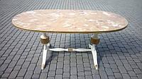 Итальянскии обеденный стол овальный, нераздвижной.