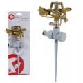 Дождеватель пульсирующий с полной/частичной зоной полива на костыле, круг/сектор полива до 12 м. Brass, Zinc a
