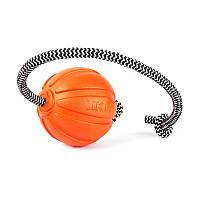 Collar Liker Cord 9 мяч-игрушка на шнуре для собак крупных пород, 9х30см