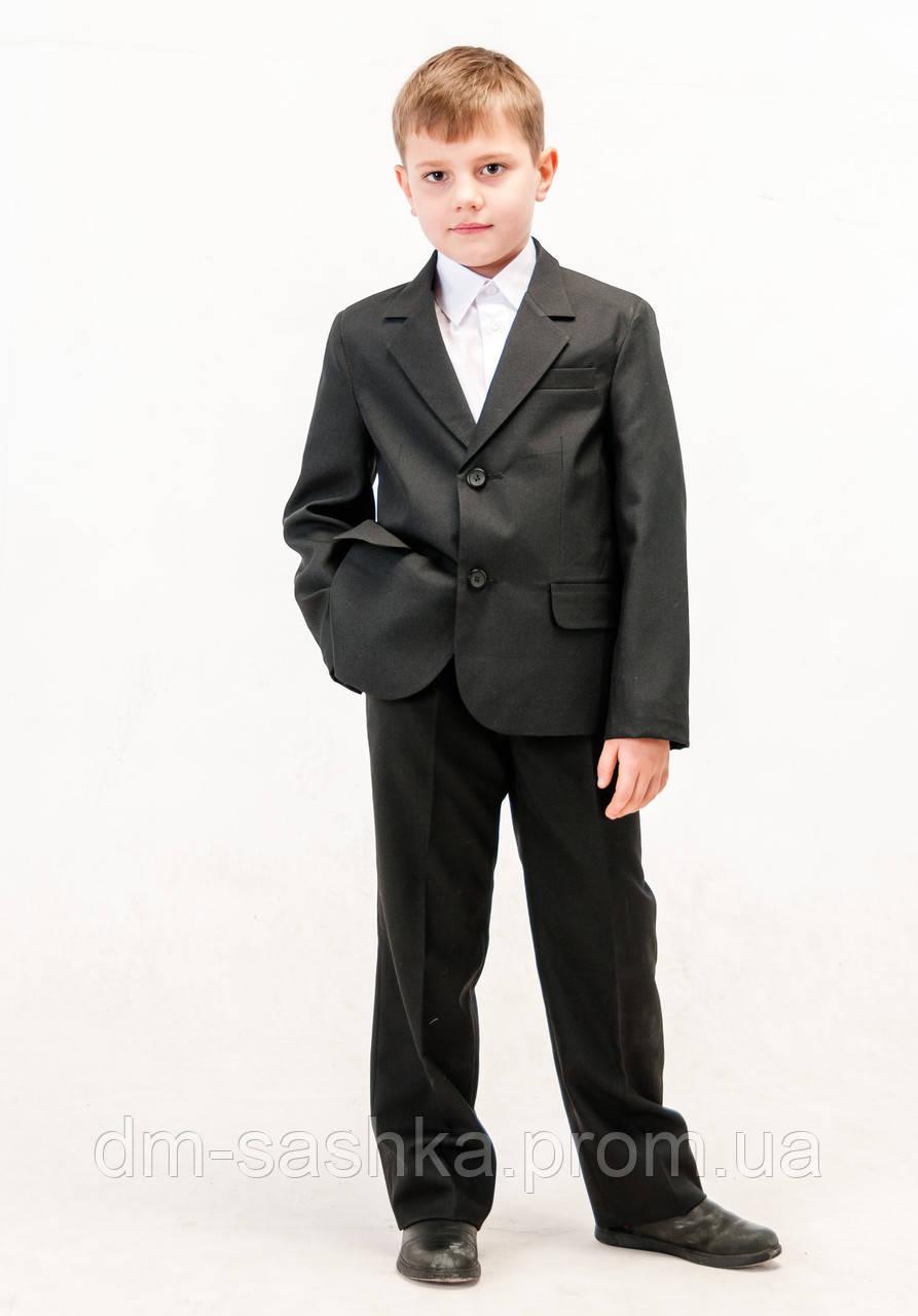 Костюм  классический черный для мальчика