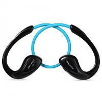 Беспроводные Bluetooth наушники Awei A880BL с поддержкой aptX (Голубой), фото 1
