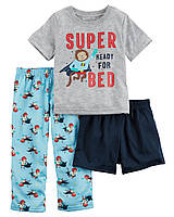 """Пижама 3в1 Carter's """"Супергерой"""" 3Т,4Т,5Т 5Т"""