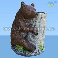 Цветочник Медведь с кадкой