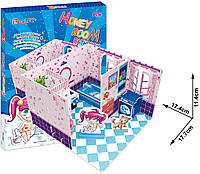"Трёхмерный конструктор-головоломка 3D-пазл ""Комната Хани - Ванная комната"", ТМ Cubik Fun, C051-04h"