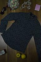 Женская рубашка классическая с абстрактным принтом WAREDENIM