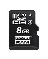 MicroSDHC  8GB Class 4 GOODRAM (M400-0080R11)