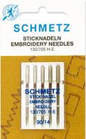 Иглы Schmetz №90 EMBROIDERY/для вышивки