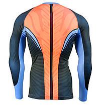 Комплект Рашгард Fixgear и компрессионные штаны CFL-F72+FPL-BS, фото 3